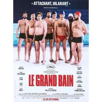 LE GRAND BAIN Affiche de film - 40x60 cm. - 2018 - Benoit Poelvoorde, Gilles Lellouche