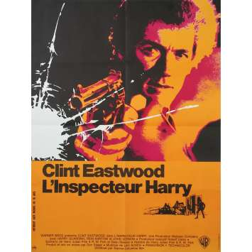 DIRTY HARRY Original Movie Poster - 23x32 in. - 1971 - Don Siegel, Clint Eastwood