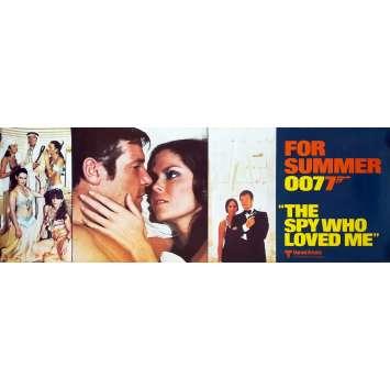 L'ESPION QUI M'AIMAIT Affiche de film Mod. B - 53x153 cm. - 1977 - Roger Moore, Lewis Gilbert