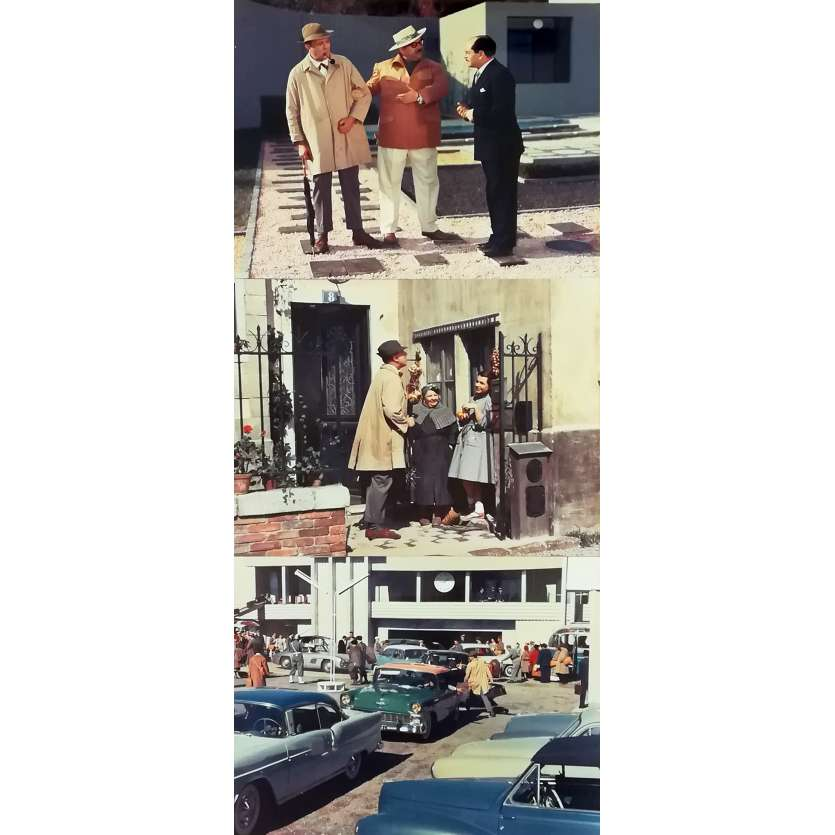 MON ONCLE Original Movie Stills - 10x12 in. - 1958 - Jacques Tati, Jean-Pierre Zola