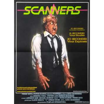 SCANNERS Original Movie Poster - 15x21 in. - 1981 - David Cronenberg, Patrick McGoohan
