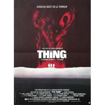 THE THING Affiche de film - 40x60 cm. - 1982 - Kurt Russel, John Carpenter