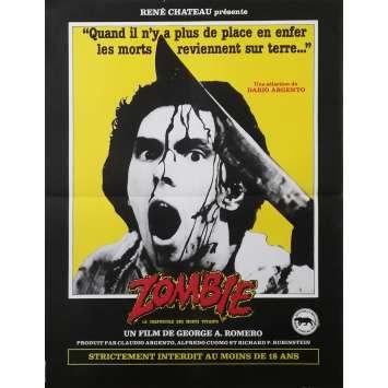 ZOMBIE Affiche de film - 40x60 cm. - 1979 - Sarah Polley, George A. Romero