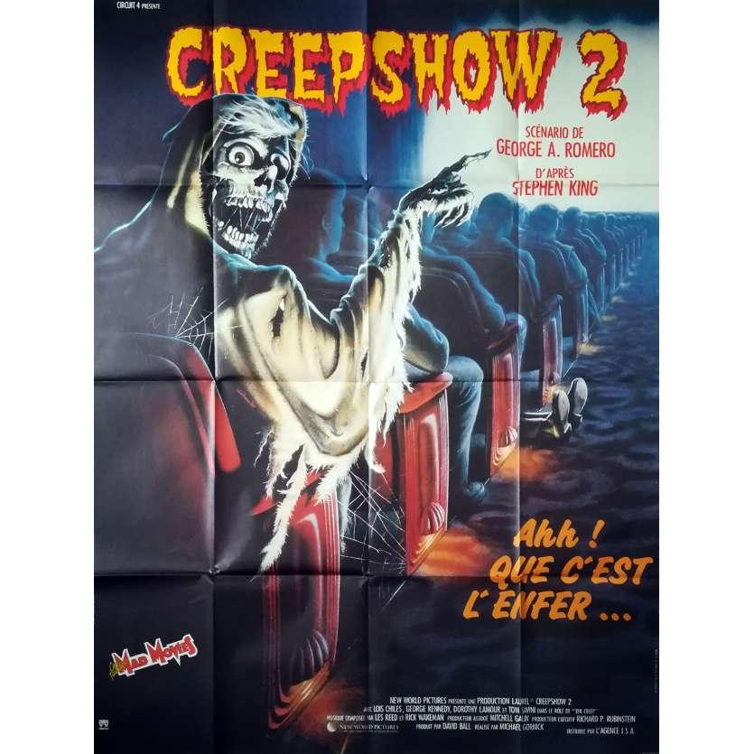 CREEPSHOW 2 Affiche de film - 120x160 cm. - 1987 - George Kennedy, Michael Gornick