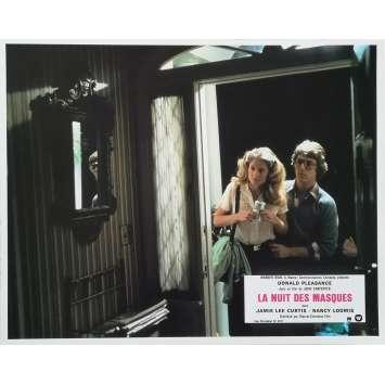 HALLOWEEN LA NUIT DES MASQUES Photo de film N05 - 21x30 cm. - 1978 - Jamie Lee Curtis, John Carpenter
