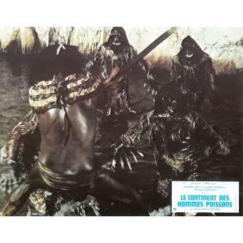 LE CONTINENT DES HOMMES POISSONS Photo de film N01 - 21x30 cm. - 1979 - Barbara Bach, Sergio Martino