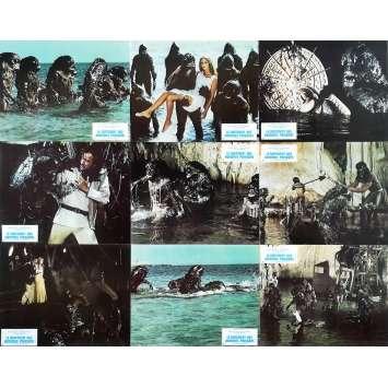 LE CONTINENT DES HOMMES POISSONS Photos de film x9 - 21x30 cm. - 1979 - Barbara Bach, Sergio Martino