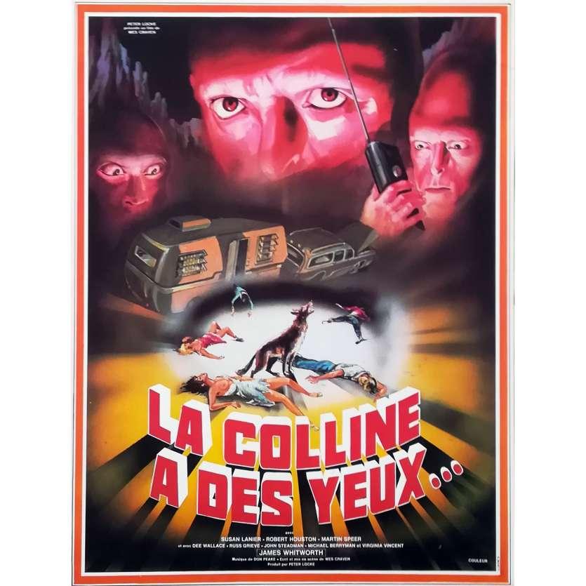 LA COLLINE A DES YEUX Synopsis - 21x30 cm. - 1977 - Michael Berryman, Wes Craven