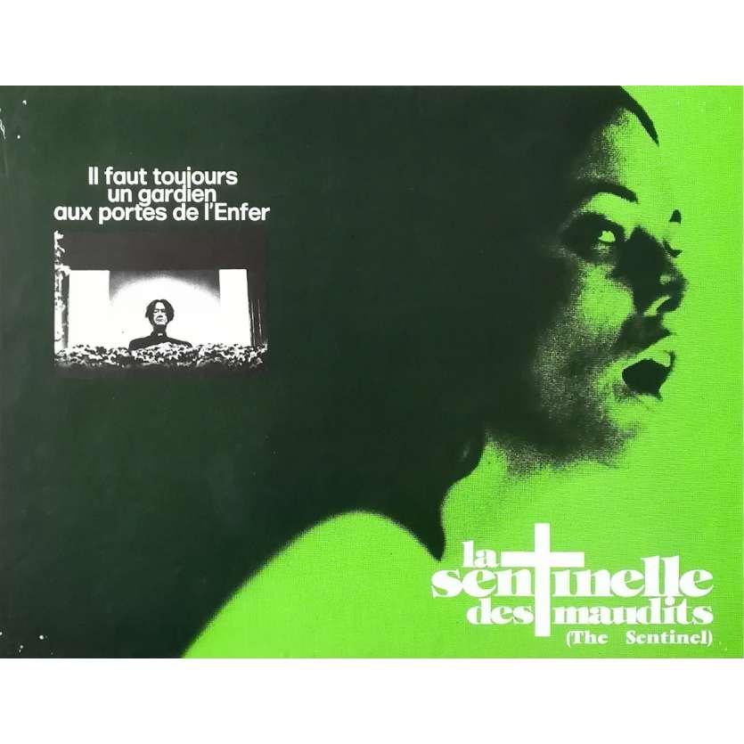LA SENTINELLE DES MAUDITS Synopsis - 21x30 cm. - 1977 - Cristina Raines, Michael Winner