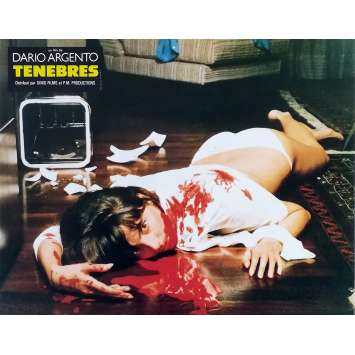 TENEBRES Photo de film N04 - 21x30 cm. - 1982 - John Saxon, Dario Argento