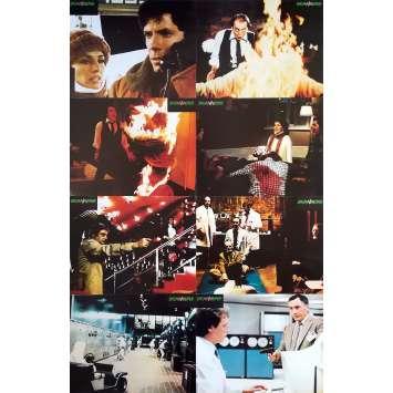 SCANNERS Photos de film x8 - Jeu B - 21x30 cm. - 1981 - Patrick McGoohan, David Cronenberg