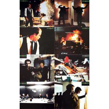 SCANNERS Photos de film x8 - Jeu A - 21x30 cm. - 1981 - Patrick McGoohan, David Cronenberg