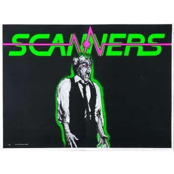 SCANNERS Affiche de film Modèle rare - 40x60 cm. - 1981 - Patrick McGoohan, David Cronenberg