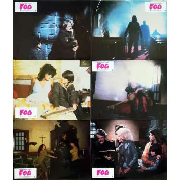 FOG Photos de film x6 - 21x30 cm. - 1979 - Jamie Lee Curtis, John Carpenter