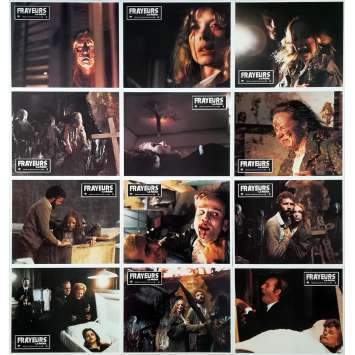 THE CITY OF THE LIVING DEAD Original Lobby Cards x12 - 9x12 in. - 1980 - Lucio Fulci, Catriona MacColl