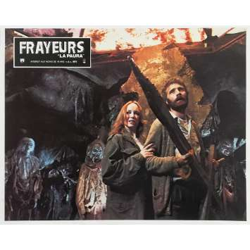 THE CITY OF THE LIVING DEAD Original Lobby Card N08 - 9x12 in. - 1980 - Lucio Fulci, Catriona MacColl