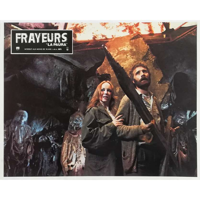FRAYEURS Photo de film N08 - 21x30 cm. - 1980 - Catriona MacColl, Lucio Fulci