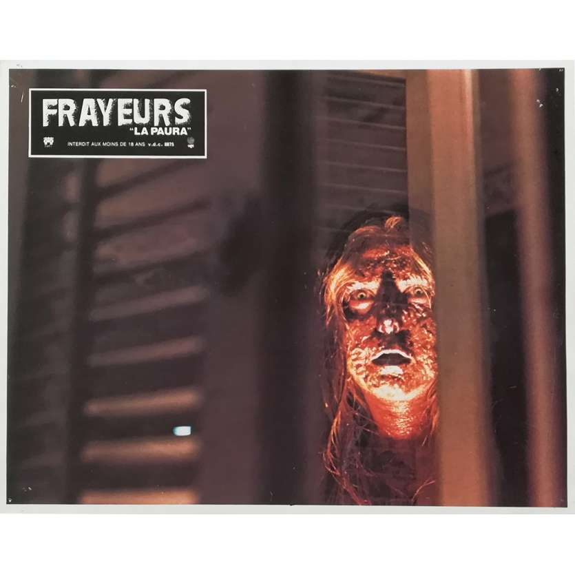 FRAYEURS Photo de film N06 - 21x30 cm. - 1980 - Catriona MacColl, Lucio Fulci