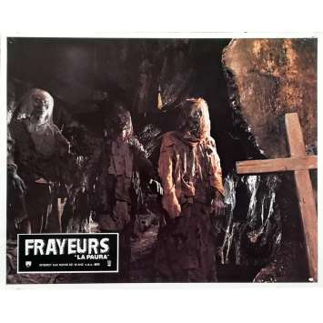 FRAYEURS Photo de film N02 - 21x30 cm. - 1980 - Catriona MacColl, Lucio Fulci
