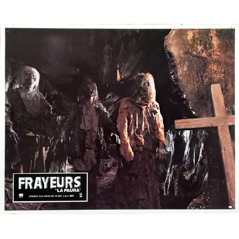 FRAYEURS Photo de film N02 - 21x30 cm. - 1980 - Catriona MacColl, Lucio Fulci