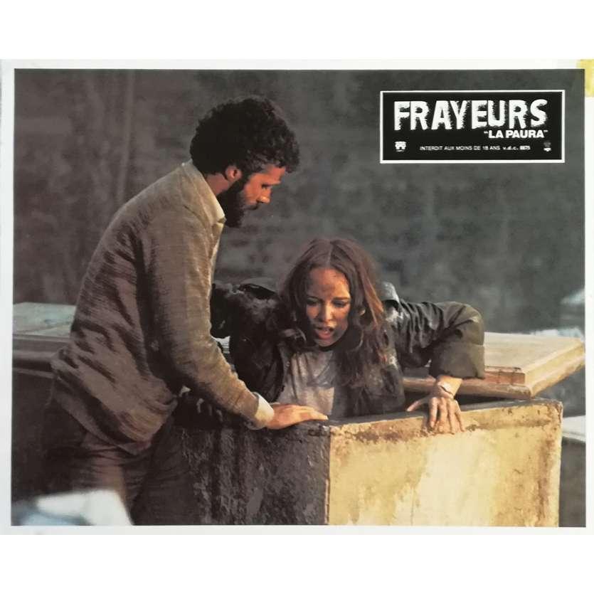 FRAYEURS Photo de film N01 - 21x30 cm. - 1980 - Catriona MacColl, Lucio Fulci