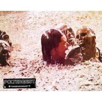 POLTERGEIST Photo de film - 21x30 cm. - 1982 - Heather o'rourke, Steven Spielberg