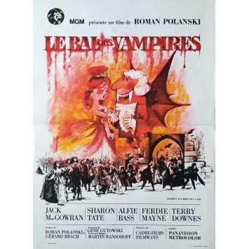 LE BAL DES VAMPIRES Affiche de film - 40x60 cm. - 1967 - Sharon Tate, Roman Polanski
