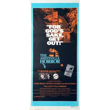 AMITYVILLE Affiche de film - 33x78 cm. - 1979 - James Brolin, Stuart Rosenberg
