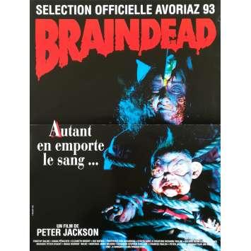 BRAINDEAD Affiche de film - 40x60 cm. - 1992 - Timothy Balme, Peter Jackson