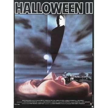 HALLOWEEN II Affiche de film - 40x60 cm. - 1981 - Jamie Lee Curtis, Rick Rosenthal