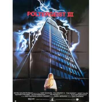 POLTERGEIST III Affiche de film - 120x160 cm. - 1988 - Heather O'Rourke, Gary Sherman