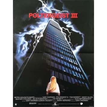 POLTERGEIST III Affiche de film - 40x60 cm. - 1988 - Heather O'Rourke, Gary Sherman