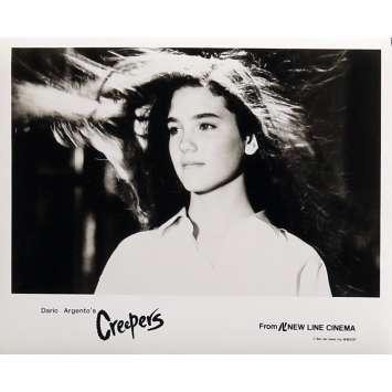 PHENOMENA Photo de presse N01 - 20x25 cm. - 1985 - Jennifer Connely, Dario Argento