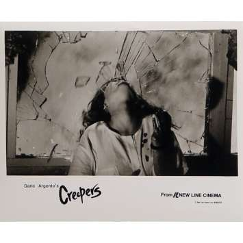 PHENOMENA Photo de presse N05 - 20x25 cm. - 1985 - Jennifer Connely, Dario Argento