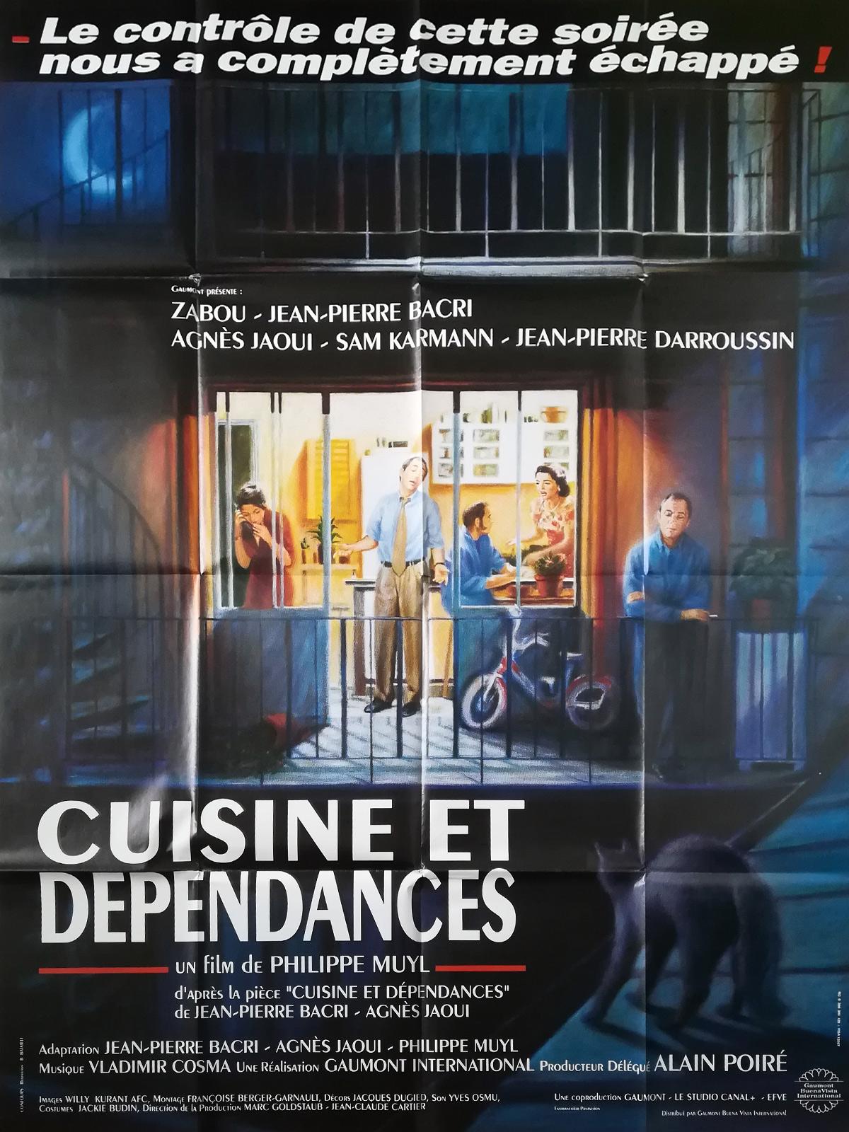 Cuisine Et Dépendance Film | Affiche De Cuisine Et Dependances Kitchen With Appartment