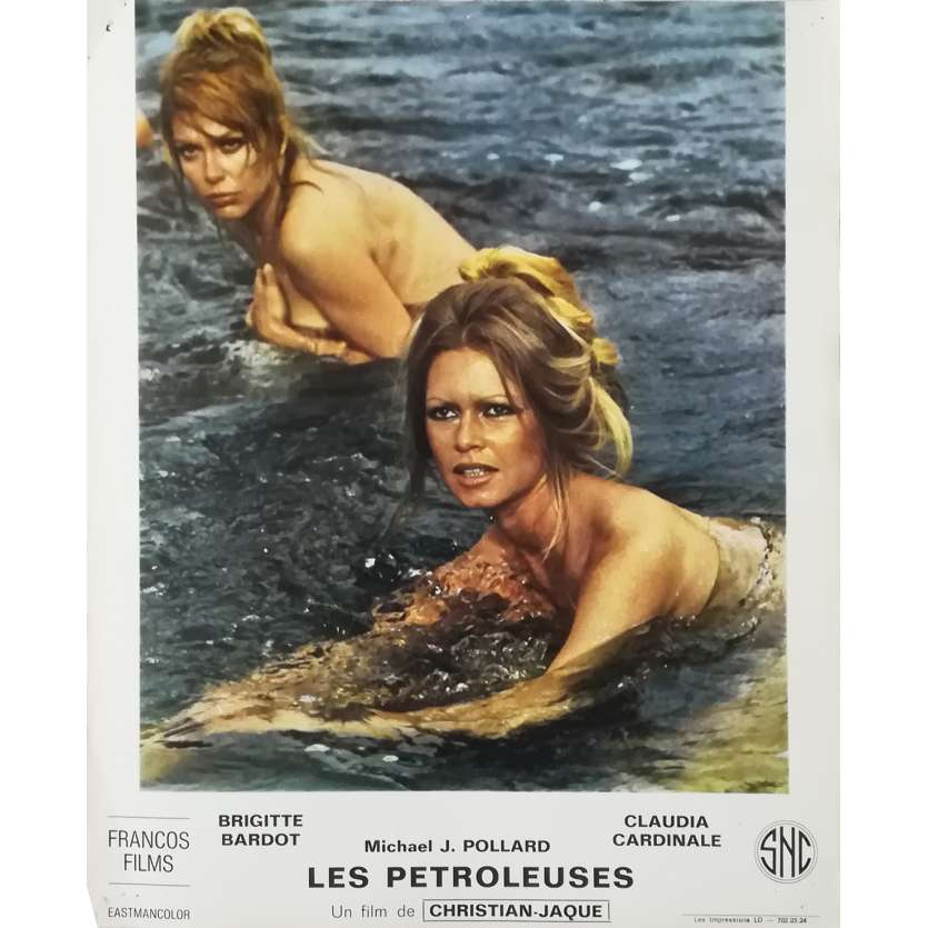 FRENCHIE KING Original Lobby Card N02 - 10x12 in. - 1971 - Christian-Jaque, Brigitte Bardot
