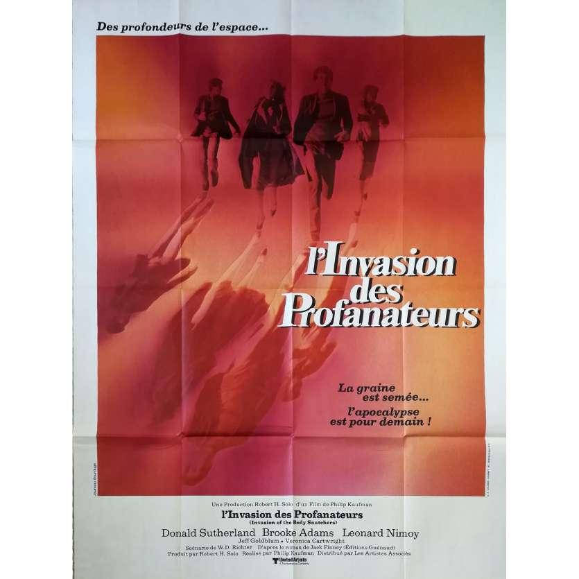 L'INVASION DES PROFANATEURS Affiche de film 120x160 - 1978 - Donald Sutherland, Philip Kaufman