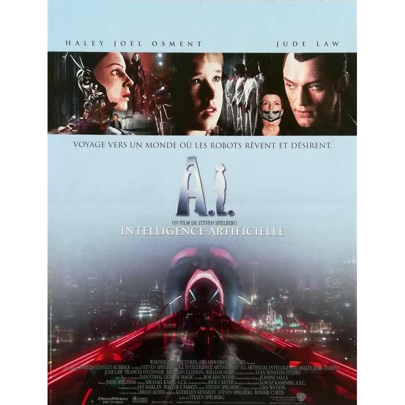 A.I. Affiche de film 40x60 - 2001 - Steven Spielberg