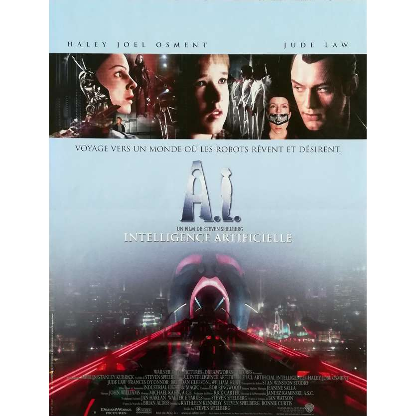 A.I. French Movie Poster 15x21 - 2001 - Steven Spielberg '
