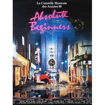 ABSOLUTE BEGINNERS Affiche de film 60x80 - 1986 - David Bowie, Julien Temple