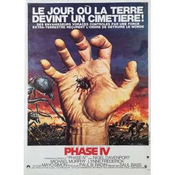 PHASE IV Original Movie Poster - 15x21 in. - 1974 - Saul Bass, Nigel Davenport