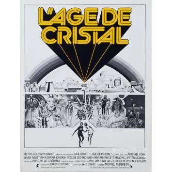 L'AGE DE CRISTAL Synopsis - 21x30 cm. - 1977 - Gregory Harrison, Donald Moffat