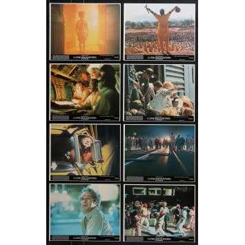 RENCONTRES DU 3E TYPE Photos de film x8 - 20x25 cm. - 1977 - Richard Dreyfuss, Steven Spielberg