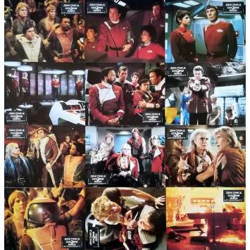 STAR TREK 2 LA COLERE DE KHAN Photos de film x12 - 21x30 cm. - 1982 - Leonard Nimoy, Nicholas Meyer
