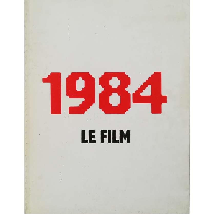 1984 Dossier de presse 32p - 21x30 cm. - 1984 - John Hurt, Michael Radford