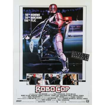ROBOCOP Affiche de film - 40x60 cm. - 1986 - Nancy Allen, Paul Verhoeven