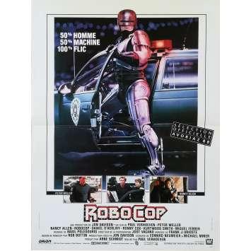 ROBOCOP Original Movie Poster - 15x21 in. - 1986 - Paul Verhoeven, Nancy Allen