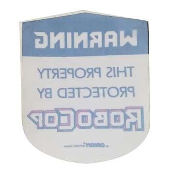 ROBOCOP Autocollant - 6x6 cm. - 1986 - Nancy Allen, Paul Verhoeven