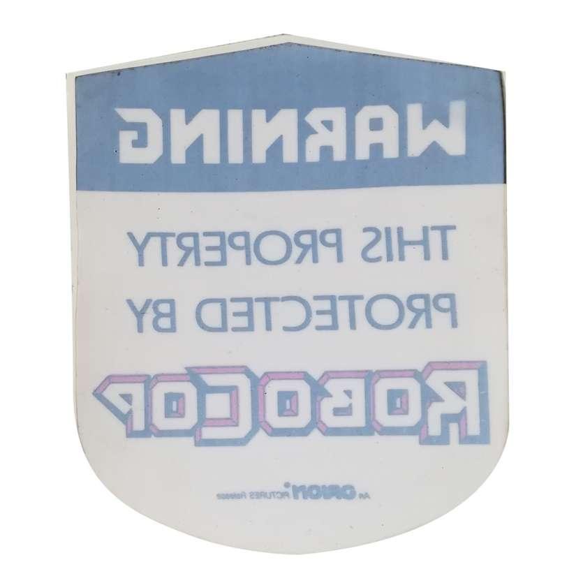 ROBOCOP Original Sticker - 2x2 in. - 1986 - Paul Verhoeven, Nancy Allen
