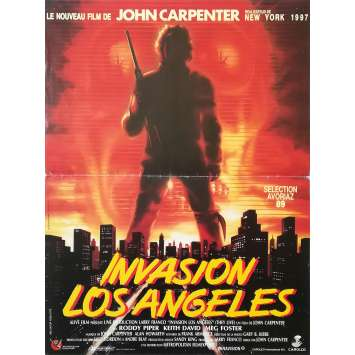 INVASION LOS ANGELES Affiche de film - 40x60 cm. - 1988 - Roddy Piper, John Carpenter